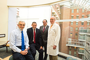 Neil Kishter and UMGCC physicians