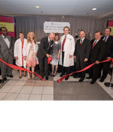 NICU ribbon cutting and dedication
