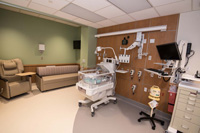 New NICU baby room