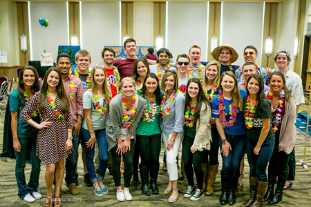 SigEp, Kappa Alpha Theta with Dr. Hussey-Gardner