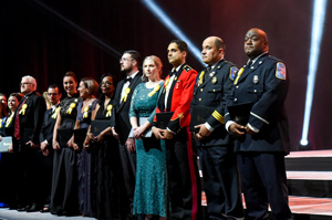 heroes honored at gala