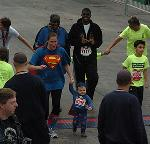 A Little Hero Recovers from Heart Surgery to Run Like Superman